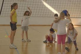 foto pallavolo bambine