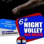 locandina 6 night volley 2013