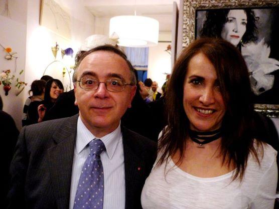 foto g.b. rizzo e maria letizia festa giordani