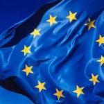foto bandiera europea