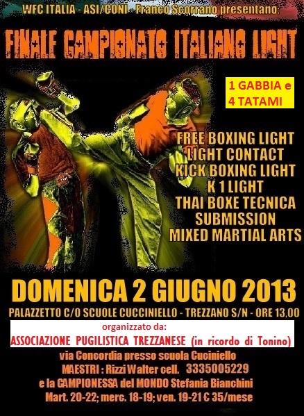 A Trezzano sul Naviglio le finali del campionato italiano di boxing light
