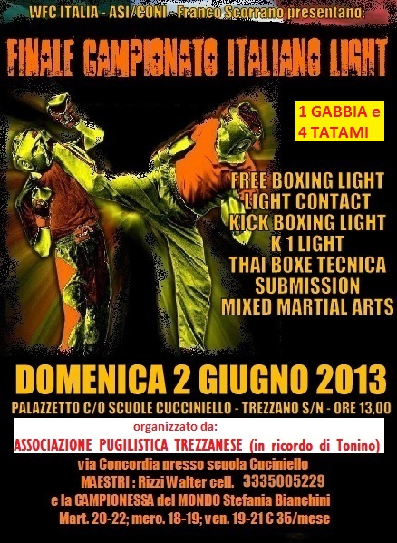 Campionati Italiani Light – risultati