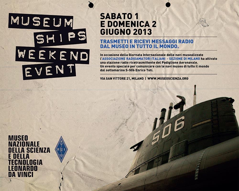 Evento speciale al Museo della Scienza di Milano- L'Enrico Toti si collega con il mondo