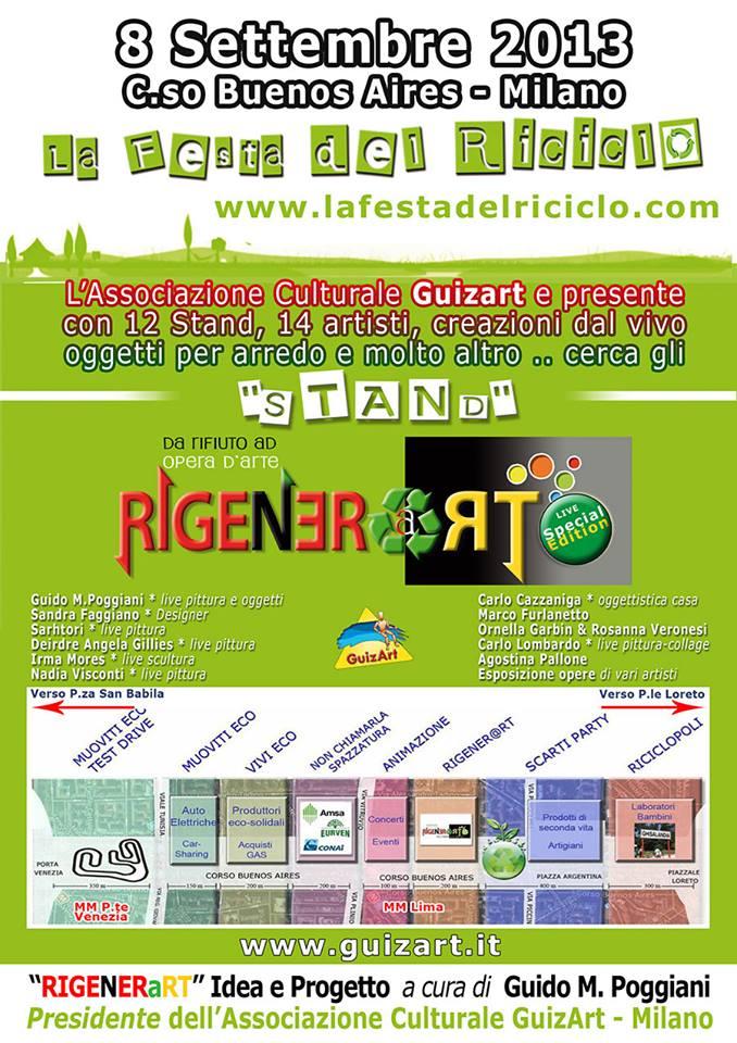 """A Milano, la festa del riciclo """"Rigeneart"""""""
