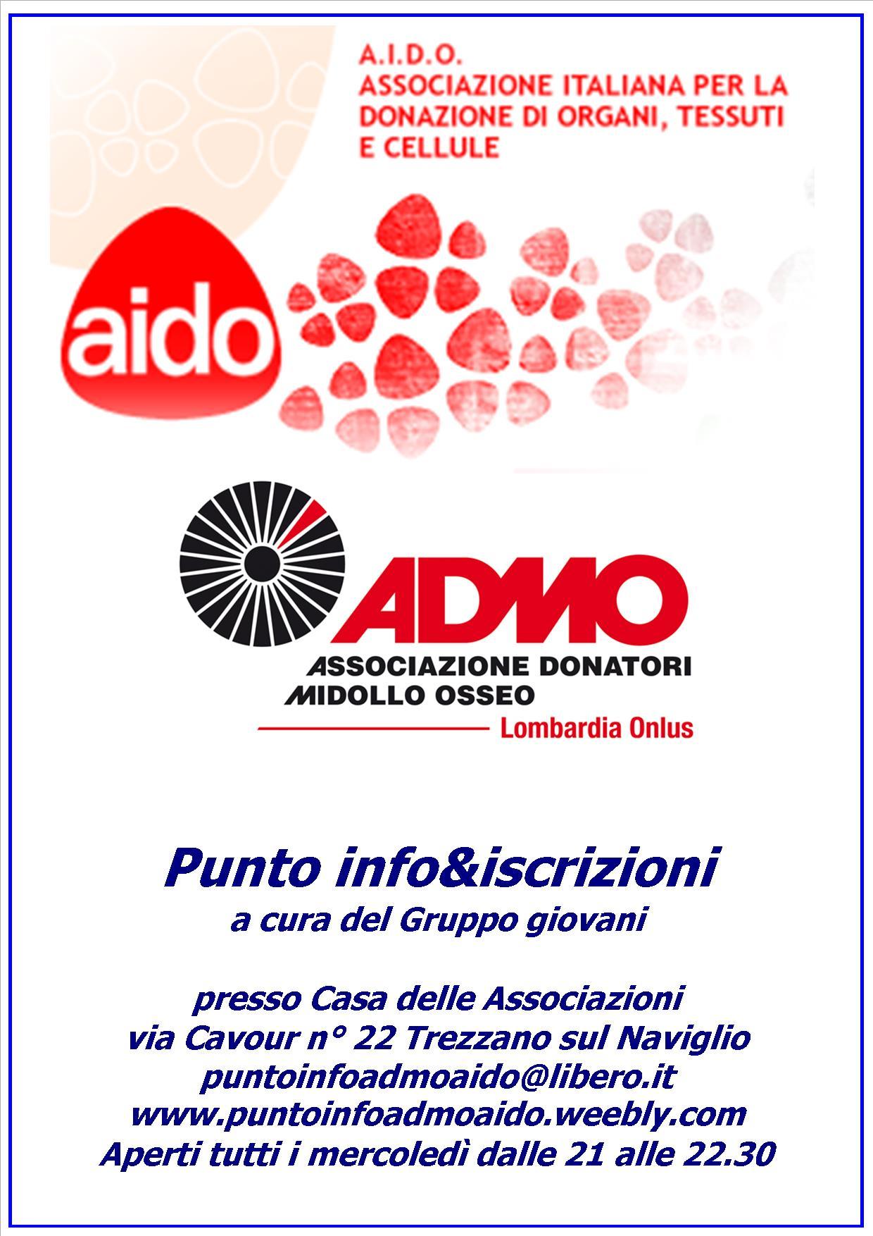 """AIDO e ADMO, associazioni di volontariato a """"24 carati"""""""