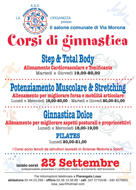 Polisportiva Trezzano Ginnastica, sono iniziati i corsi con tante specialità