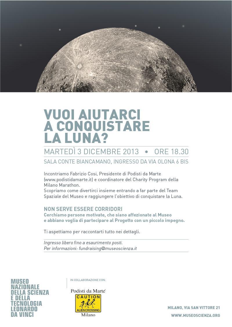Vuoi conquistare la Luna? Vieni al Museo della Scienza e della Tecnologia di Milano