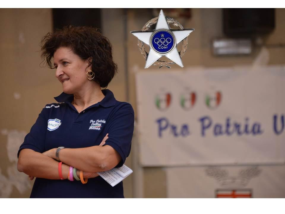 Pro Patria Volley Milano: premi per l'attività giovanile, Scuola Federale, Stella d'Argento