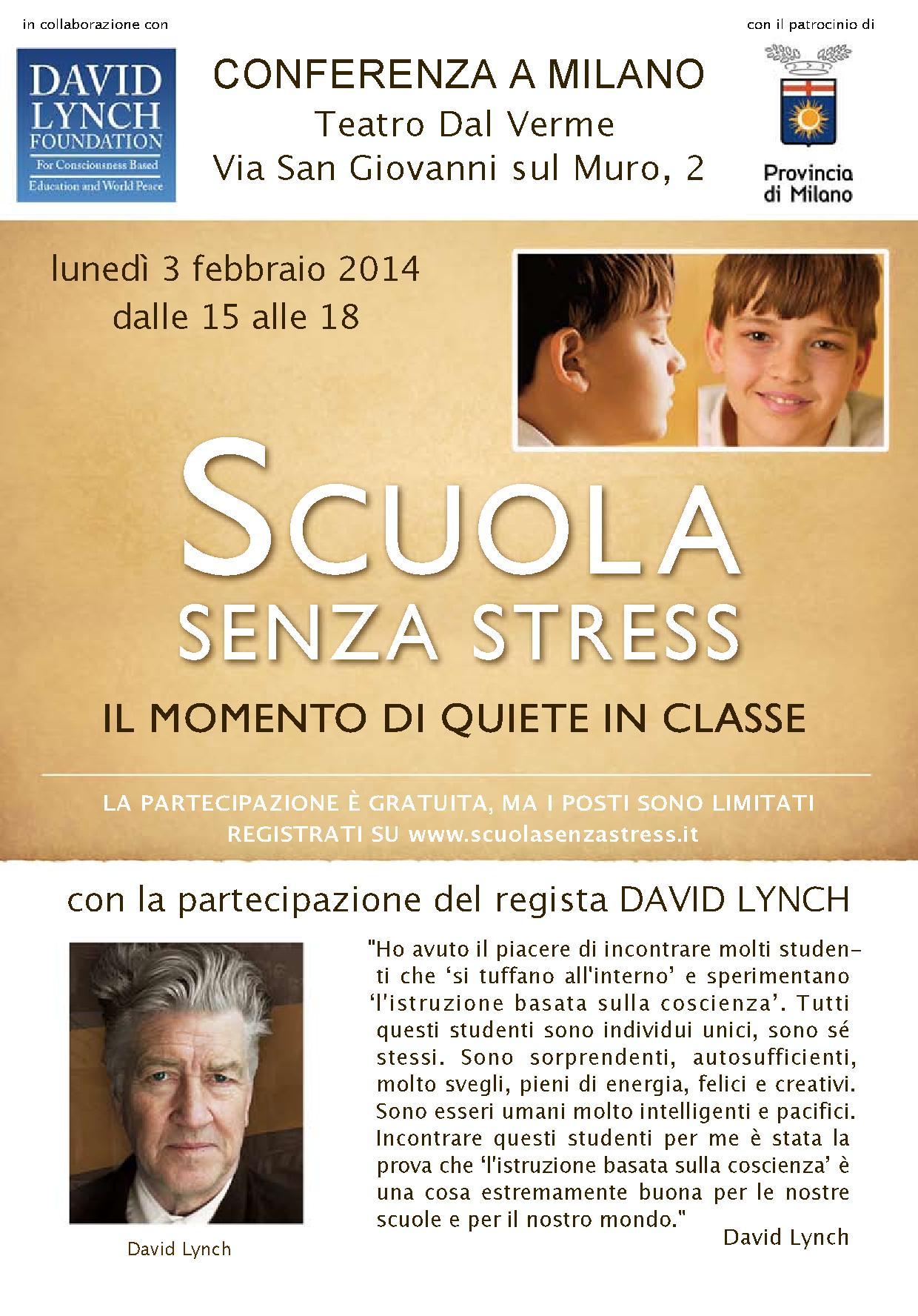 """""""Scuola senza stress"""", una soluzione a studenti e docenti"""