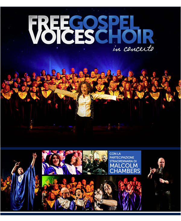 Malcom Chambers al concerto Gospel di Torino