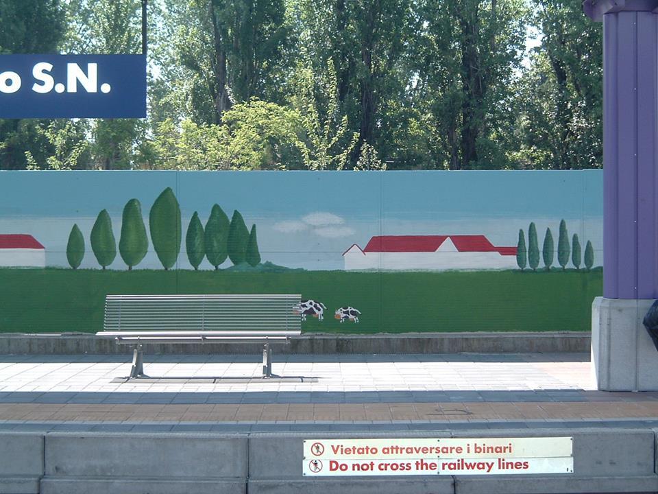 Un compleanno particolare: facciamo un murales alla stazione!