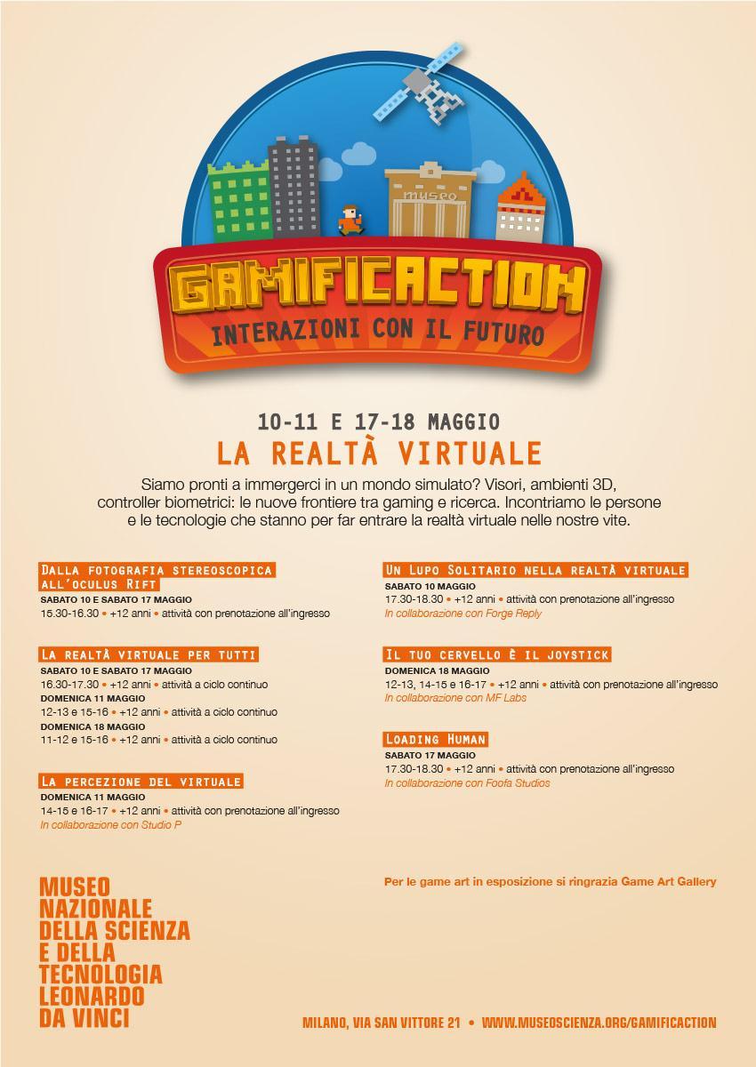 Gamificaction, realtà virtuale al Museo delle Scienze di Milano