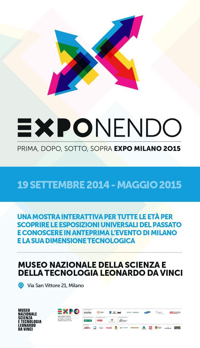 Museo Leonardo da Vinci a Milano, Exponendo 2015