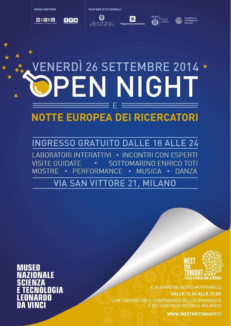 OPEN NIGHT al Museo delle Scienze di Milano
